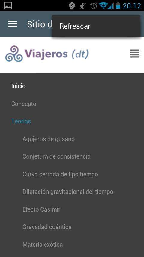 aplicacion-viajeros-en-el-tiempo-menu-web