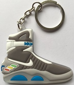 Back-to-the-Future-Keyring-2D-Nike-Air-Mag-Keychain-Glow-In-The-Dark-NEW-by-Other-0