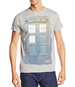Dr-Who-Doctor-Who-Tardis-Washed-Camiseta-manga-corta-para-hombre-0
