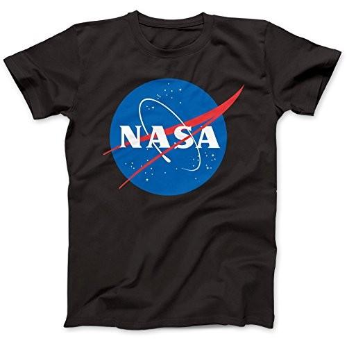 Nasa-Logo-Astronaut-Camiseta-100-Algodon-0