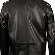 Clsico-Negro-de-cuero-real-Brando-motorista-de-la-motocicleta-chaqueta-de-piel-de-la-vaca-de-los-hombres-0-0