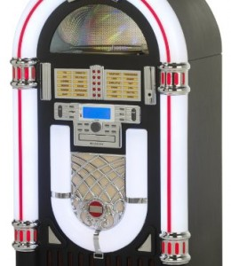 Ricatech-Jukebox-Rockola-Tocadiscos-Reproductor-memoria-USB-SD-AUX-CD-radio-AMFM-0