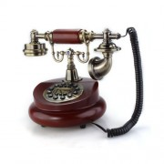 Telfono-Fijo-Antiguo-Vintage-Retro-Resina-Casa-Mesa-Oficina-0-0