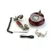 Telfono-Fijo-Antiguo-Vintage-Retro-Resina-Casa-Mesa-Oficina-0-2