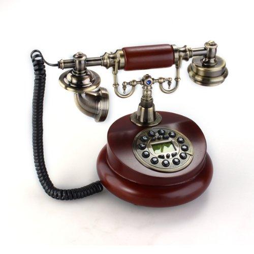 Telfono-Fijo-Antiguo-Vintage-Retro-Resina-Casa-Mesa-Oficina-0