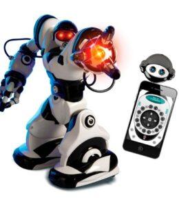 WowWee-Robot-teledirigido-Robosapien-X-color-blanco-y-negro-8006-0