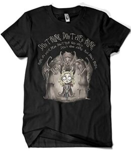 Camisetas-La-Colmena-1919-Parodia-Doctor-Who-Dont-Blink-Saqman-0