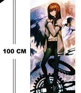 CoolChange-Poster-Enrollable-Kakemono-de-Steins-Gate-en-Tejido-100x40cm-Tema-Kurisu-Makise-0