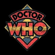 Doctor-Who-70s-Logo-Mens-T-Shirt-0-0