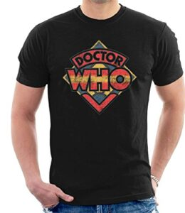 Doctor-Who-70s-Logo-Mens-T-Shirt-0