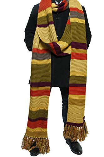 Doctor-Who-Bufanda-larga-18-pies-Temporadas-16-17-Bufanda-oficial-de-la-BBC-de-Lovarzi-0