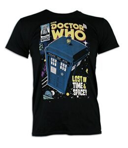 Doctor-Who-Camiseta-para-hombre-Dr-Who-Tardis-0