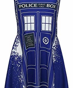 Doctor-Who-Tardis-Graffiti-Vestido-0
