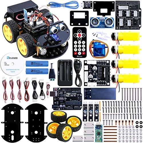 ELEGOO-Coche-Robtico-Inteligente-con-Espanol-Tutorial-para-Arduino-0