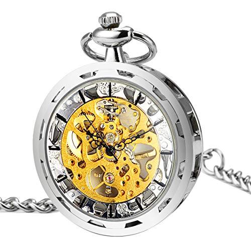 ManChDa-Vintage-Abierto-de-la-cara-Reloj-de-bolsillo-mecnico-Steampunk-Esfera-esqueleto-Viento-de-la-mano-Delicado-movimiento-Visible-para-los-hombres-Mujeres-con-cadena-Caja-regalo-0