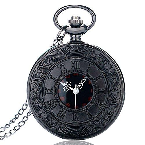 Reloj-de-bolsillo-Bestfire-de-cuarzo-color-negro-estilo-retro-vintage-steampunk-con-nmeros-romanos-0