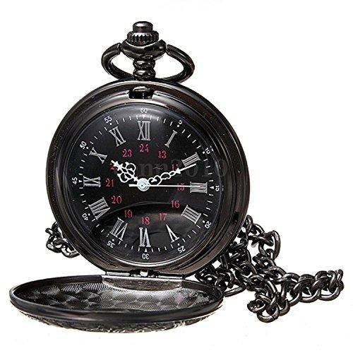Reloj-de-bolsillo-de-collar-SODIALRReloj-de-bolsillo-de-colgant-del-cuarzo-del-collar-de-numeros-romanos-negro-de-steampunk-de-la-vendimia-Regalo-0