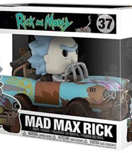 Rick-and-Morty-Figura-Vinilo-Mad-Max-Rick-Pop-Ride-37-Figura-de-coleccin-0