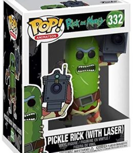 Rick-and-Morty-Figura-Vinilo-Pickle-Rick-with-Laser-332-Figura-de-coleccin-0