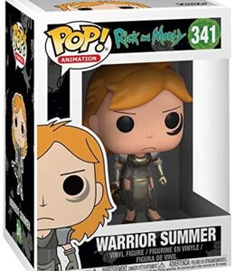 Rick-and-Morty-Figura-Vinilo-Warrior-Summer-341-Figura-de-coleccin-0