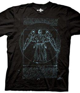 Ripple-de-derivacin-de-Doctor-Who-de-Vitruvio-de-ngel-T-Shirt-0