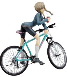 STEINS-GATE-mountain-bike-feather-bell-sound-ten-thousand-Ali-18-Scale-PVC-Figure-japan-import-0