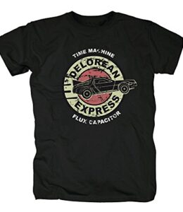TSP-Delorean-Express-DMC-12-Camiseta-para-Hombre-T-Shirt-0