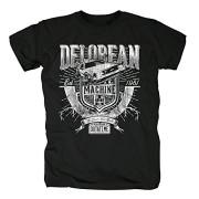 TSP-Delorean-Mquina-Outatime-Camiseta-para-hombre-T-Shirt-0
