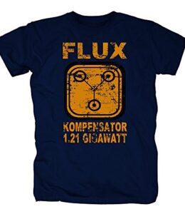 TSP-Flux-compensador-121-gigavatios-Camiseta-para-hombre-T-Shirt-0
