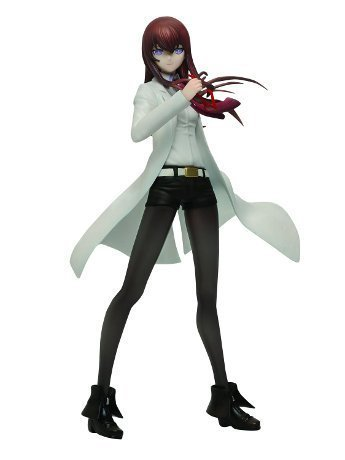 Taito-lottery-Honpo-Steins-Gate-Chapter2-Last-Happy-Award-Makise-Kurisu-figure-white-coat-Ver-japan-import-0