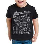 style3-DMC-12-Cianotipo-Camiseta-Para-Nios-T-Shirt-Fotocalco-Azul-0-1