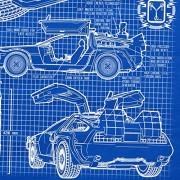 style3-DMC-12-Cianotipo-Camiseta-para-hombre-T-Shirt-fotocalco-azul-0-0