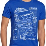 style3-DMC-12-Cianotipo-Camiseta-para-hombre-T-Shirt-fotocalco-azul-0