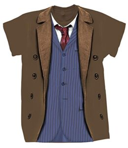Doctor-Who-10th-Doctor-Camiseta-Marrn-XXL-0