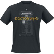 Doctor-Who-Logo-13th-Doctor-Tardis-Camiseta-Negro-XL-0