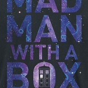 Doctor-Who-Mad-Man-with-A-Box-Camiseta-Negro-XXL-0-1