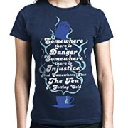 Doctor-Who-Somewhere-There-Is-Danger-Camiseta-Azul-Marino-M-0-0