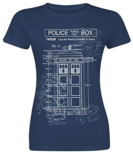 Doctor-Who-Tardis-Blueprint-Camiseta-Azul-Marino-L-0