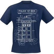 Doctor-Who-Tardis-Plan-Camiseta-Azul-L-0