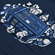 Police-Box-Tardis-Walking-Doctor-Who-Womens-T-Shirt-0-3