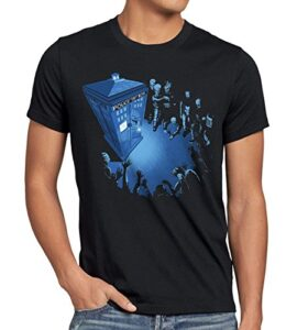 style3-Who-Cabina-de-Polica-Camiseta-para-hombre-T-Shirt-dalek-dr-box-space-tv-doctor-TallaXL-0
