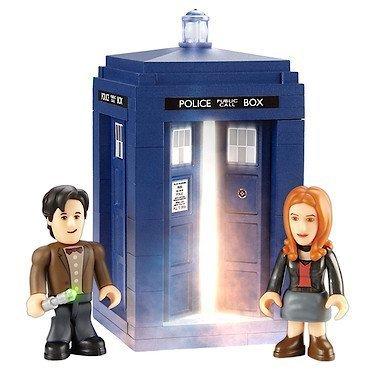 Doctor-Who-Character-Options-Juego-de-construccin-Tardis-y-Accesorios-0