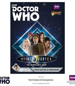 Doctor-Who-Into-The-Time-Vrtice-juego-Miniaturas-Tenth-Doctor-y-compaeros-5-Warlord-Juegos-0