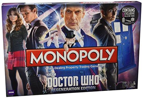 Hasbro-23023-Juego-Monopoly-de-miniatura-Doctor-Who-Regeneration-Edition-de-2-a-6-jugadores-versin-en-ingls-0