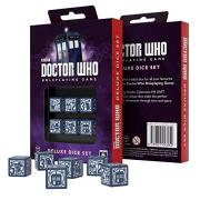 Q-WORKSHOP-Doctor-Who-RPG-Dice-Set-6-x-D6-Deluxe-0-0