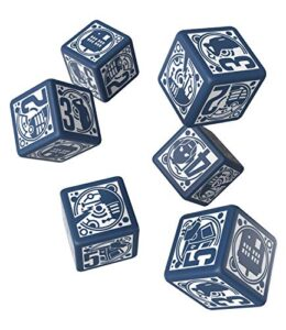 Q-WORKSHOP-Doctor-Who-RPG-Dice-Set-6-x-D6-Deluxe-0